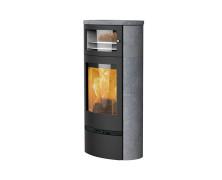 Jubilee 35S BF stufe a legna con forno in acciaio con rivestimento in pietra ollare